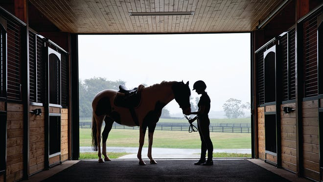 The Salamander Resort & Spa in Middleburg, Va., has a thriving equestrian program that includes riding lessons, guided rides and wellness classes such as yoga on horseback.