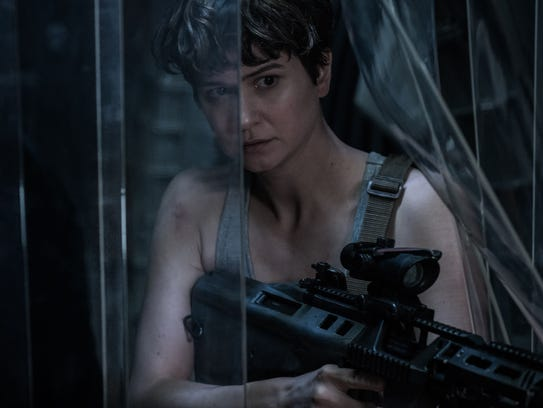 "Katherine Waterston stars as Daniels in ""Alien: Covenant,"""