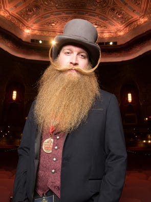 2015 National Beard and Moustache Champion Scott Metts.