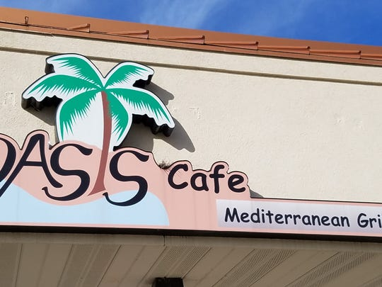 Raffi's Oasis Cafe is tucked away on East Virginia Street in the same plaza as Crazy Sake. Look for the palm tree to find foods of the Holy Land.