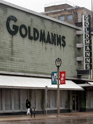 The popular Milwaukee store Goldmann's stands gutted
