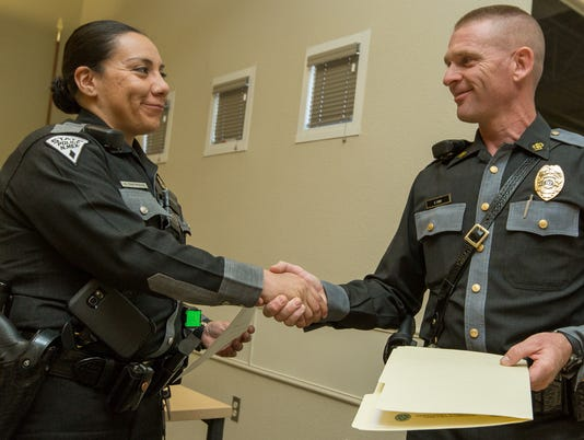 051016 - New Mexico State Police award 1