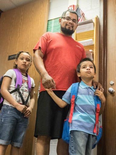 On Tuesday, Battle Creek resident Daniel Nunez took