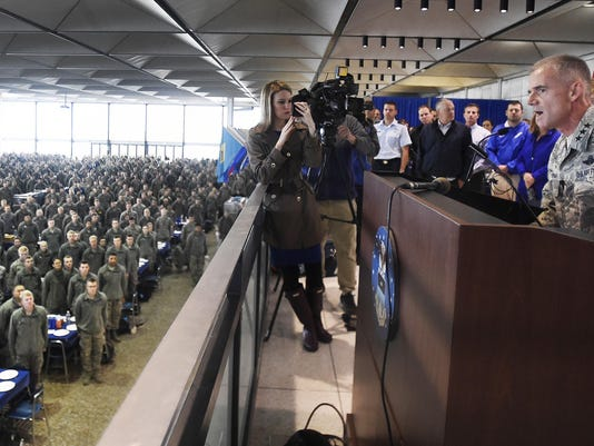 Air Force Academy investigates racial slurs at prep school; superintendt says racists 'need to get out'