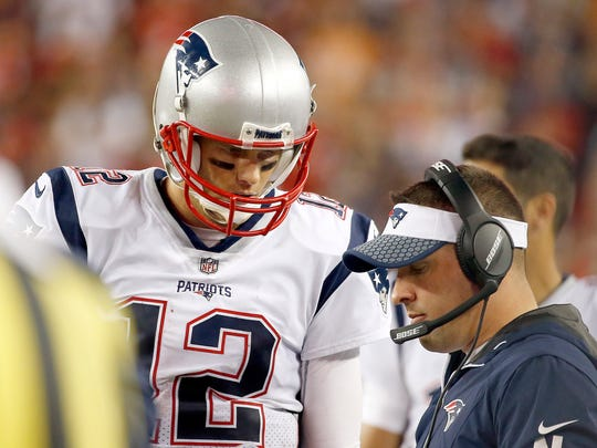 Josh McDaniels is currently offensive coordinator for the New England Patriots.