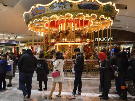 Garden State Plaza Carousel Stops Spinning