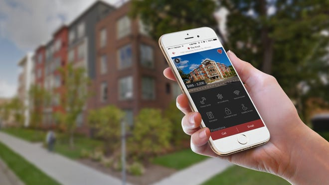 Abodo has apps that allow renters to use their phones to find apartments.
