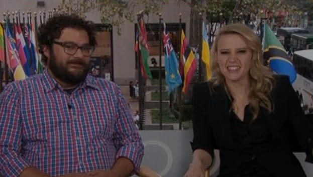 'Saturday Night Live' cast members Kate McKinnon and Bobby Moynihan answer five questions.