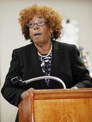 The Rev. Damita Wilder of A.M.E. Zion Church in Asheville