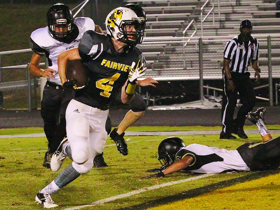 Transfer Jake Beathard (4) has made a big impact in his first season at Fairview