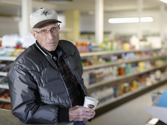 Lloyd Curtman,90, remembers when his parents work at