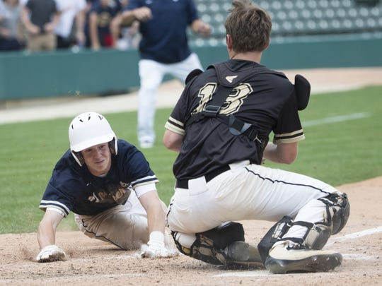 Daleville High School beat University High School 4-2 in extra innings for the Class A title.