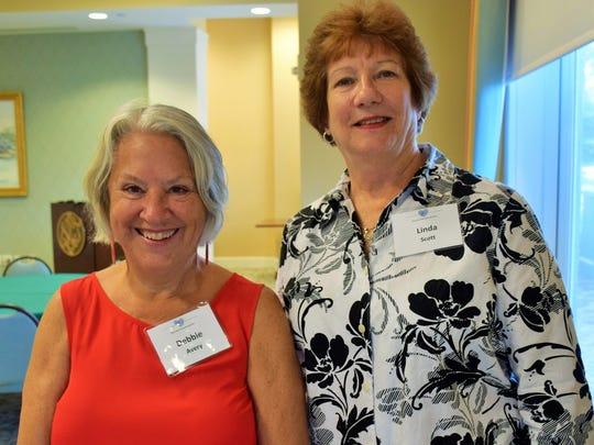 Debbie Avery and Linda Scott