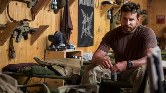 Sniper Chris Kyle (Bradley Cooper) is dedicated to his mission but finds that  adjusting to home life is a challenge after the war.