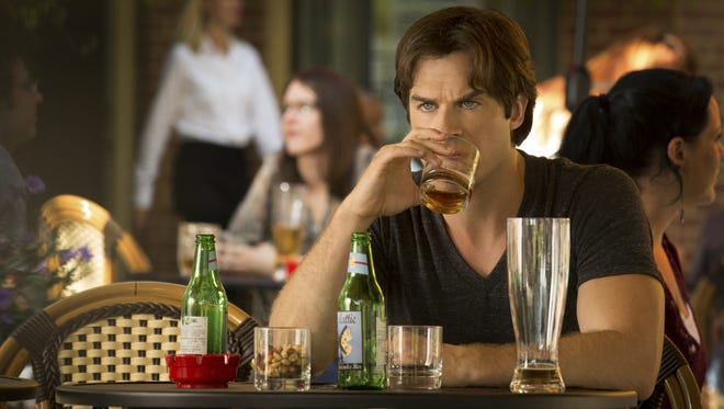 Damon (Ian Somerhalder) must go on without the love of his life as 'The Vampire Diaries' returns for a new season.