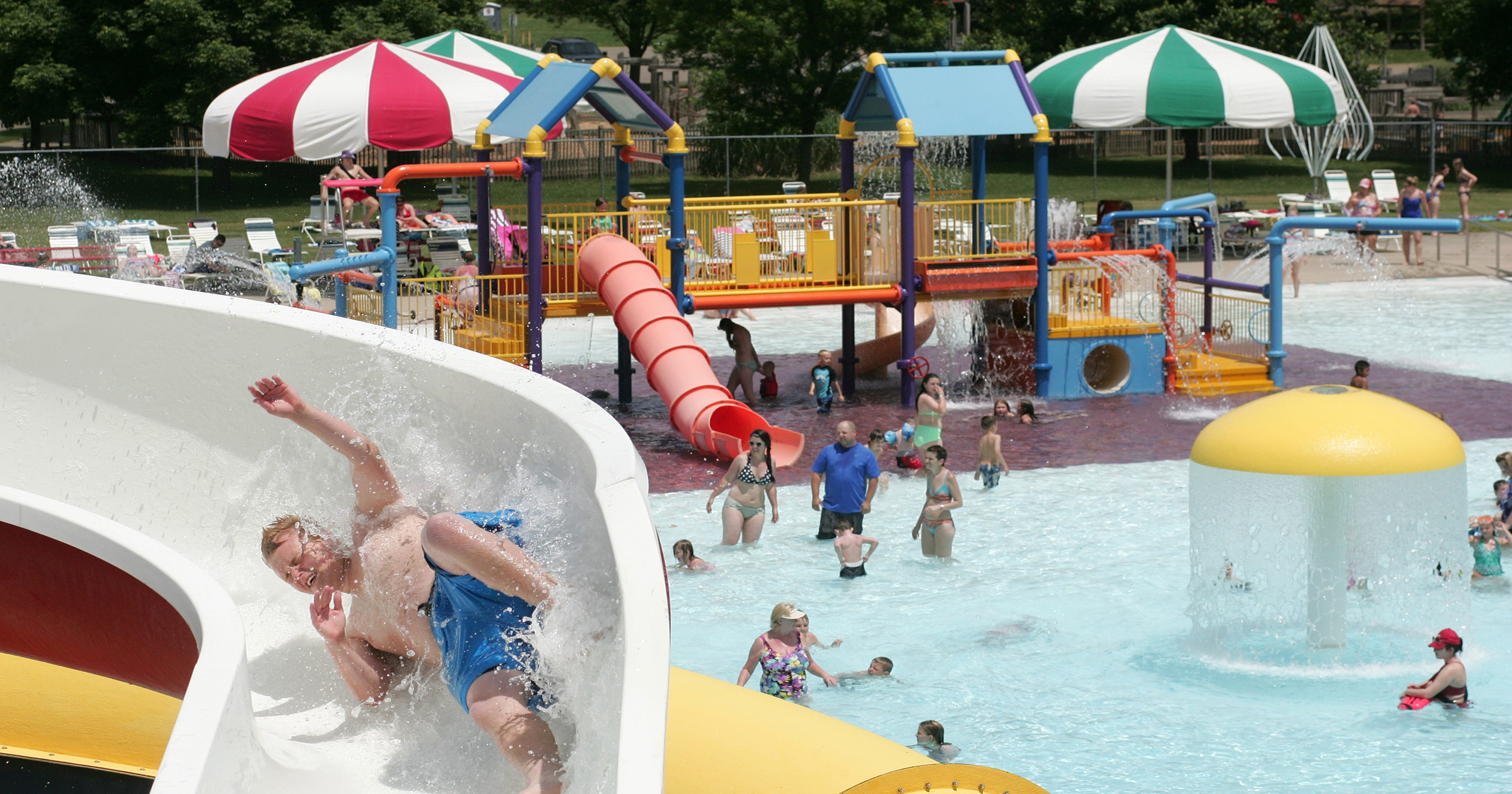 School 39 s out for summer pools open - Public swimming pools greensboro nc ...