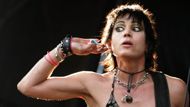 This 2006 image shows Joan Jett during a New York stop of the Vans Warped Tour.