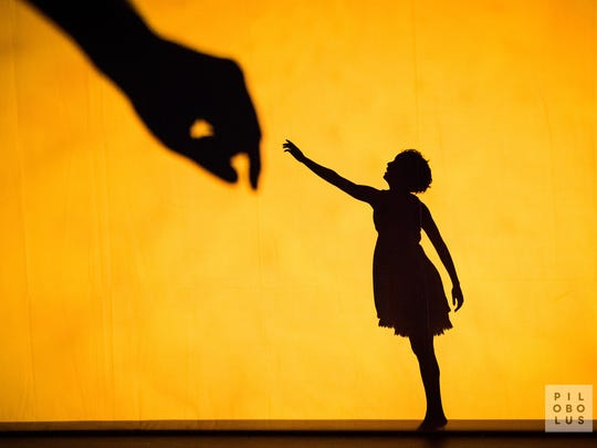 """Dance theater group Pilobolus plays with light, shadows and perception in """"Shadowland,"""" Jan 25-26."""