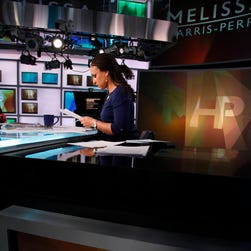 Melissa Harris-Perry hosts a weekend political talk show on MSNBC.