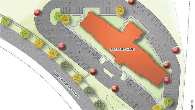 A prominent Greater Cincinnati hotel operator wants to add a 101-room Hampton Inn in West Chester near Liberty Way.