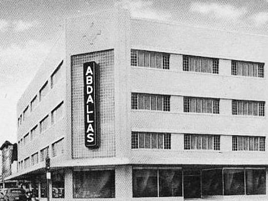 Abdalla Furniture Store, from 1948 to the mid-1960s.