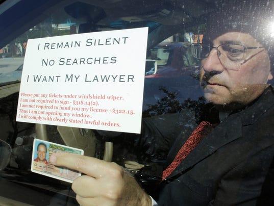 AP DUI CHECKPOINT CHALLENGES A USA FL