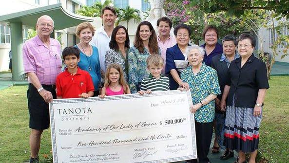 Courtesy of the Ysrael family The Ysraels donated $500,000