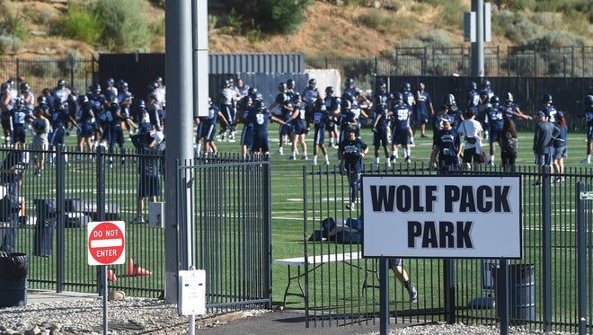 The Nevada football team opened practice on Aug. 2.
