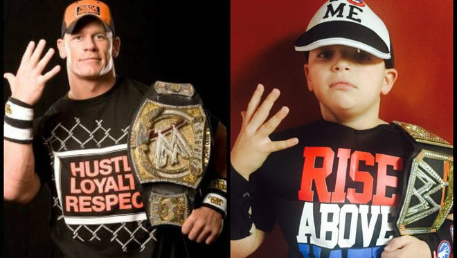 WWE superstar John Cena inspired Star reporter Dana Benbow's 8-year-old son, Nolan, to give wrestling a try.