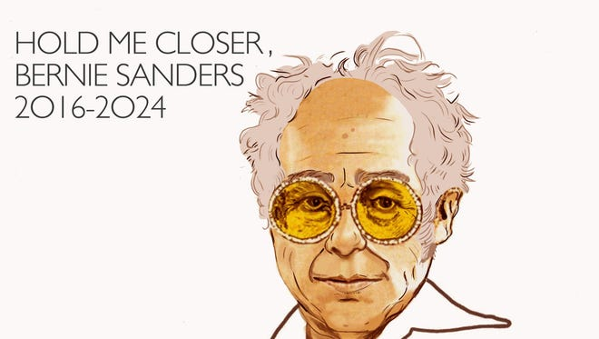 """Hold Me Closer, Bernie Sanders"" by Punned It is available as a name-your-price download."