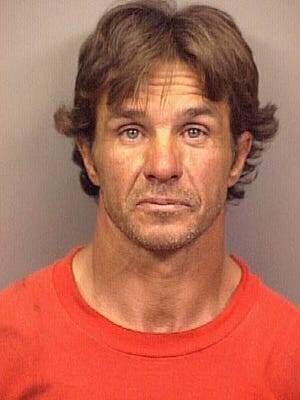 A mugshot of Doug Mitchell. Mitchel was murdered at his home on Plumas Drive in 2003.