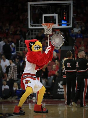Apparently, the Cardinal Bird got an update to his look, which premiered Wednesday night at the UK-UofL game.