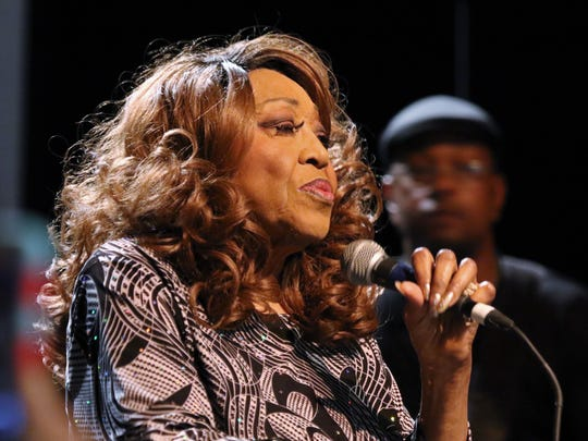The 'Queen of the Blues'  Denise LaSalle performs many