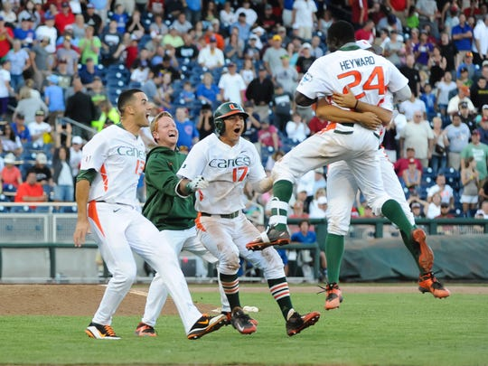 The Miami Hurricanes enjoyed some success in the 2015 CWS. Could the Canes make it back to Omaha?