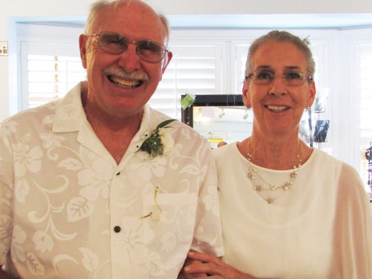 Jim and Karen Swanker continued their 50th anniversary