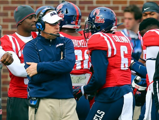 Mississippi coach Hugh Freeze and the Rebels have a