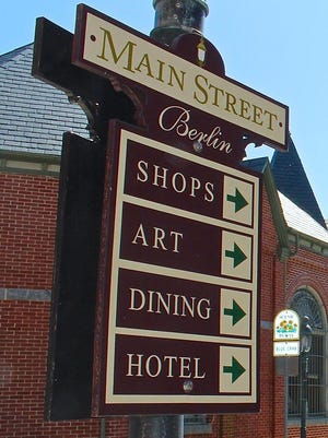 Downtown Berlin hosts 2nd Friday arts events year-round.