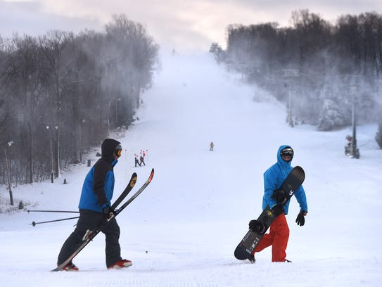 Roundtop Mountain Resort is a great place to spend a snowy day off from school. But as snow days become cyber days, kids might want to bring their laptops to the lodge.