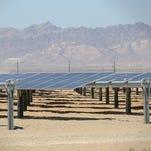 The 150-megawatt Tenaska Imperial Solar Energy Center West just outside El Centro, California, near the Mexican border.