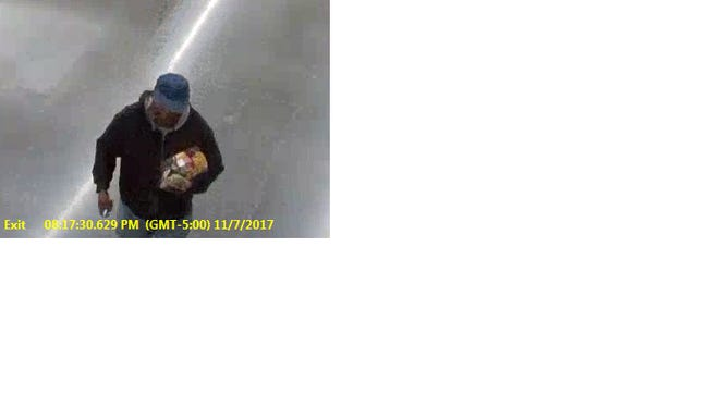 Do you know this person? Call police immediately.
