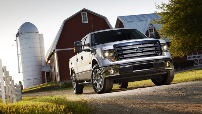 The  Ford F-150 is in its last throes before going aluminum, but it was challenged in October.