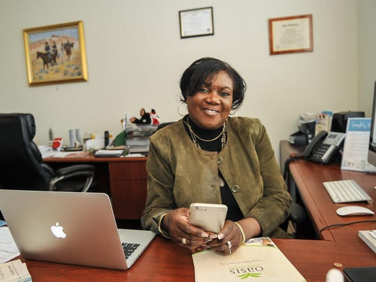 Connie Roberson, owner of Oasis Senior Advisors, which helps seniors learn about senior living options.