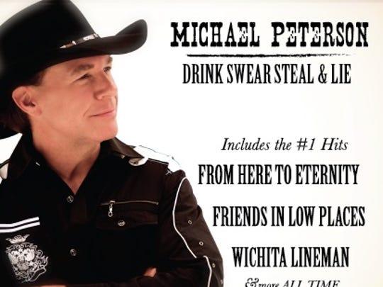 Album cover for Michael Peterson's 2018 album, Drink