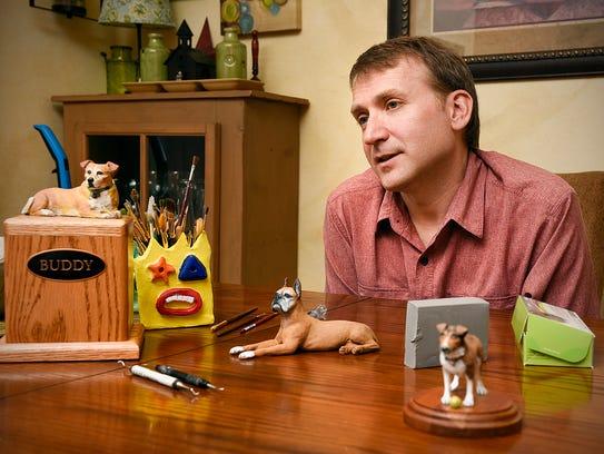 Tony Korman, Kormanstudio, creates custom pet urns