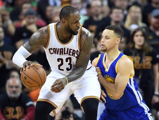 LeBron James Stephen Curry