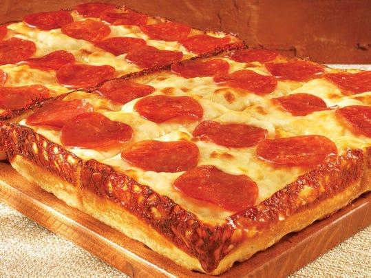 AP LITTLE CAESARS PIZZA DEEP!DEEP! DISH PIZZA A F PEX FOD PDT USA MI