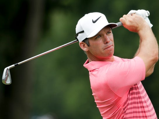 Paul Casey of England is ranked No. 12 in the world.