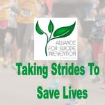 """Join the cause at Saturday's Taking Strides to Save Lives 5K Run and Remembrance Walk. The event is organized by the Alliance for Suicide Prevention of Larimer County and features the free """"Bunny Hop"""" race for kids 10 and younger."""