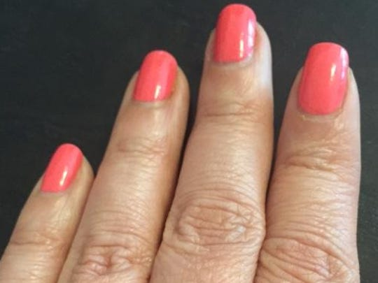 Infinite polish by OPI on day seven.