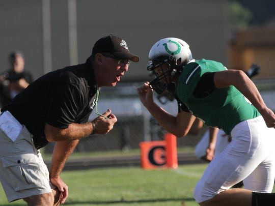 Ninth-year coach Dave Carroll  is overseeing Clear Fork's transition from the Ohio Cardinal Conference to the Mid-Ohio Athletic Conference.